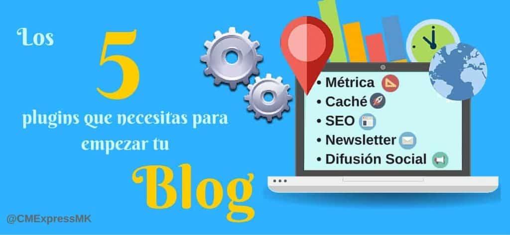 5 plugins para blog