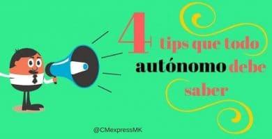 autónomo tips