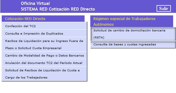Red directo cotización