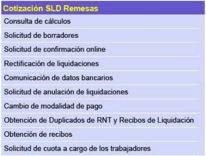 SLD Remesas Sistema RED