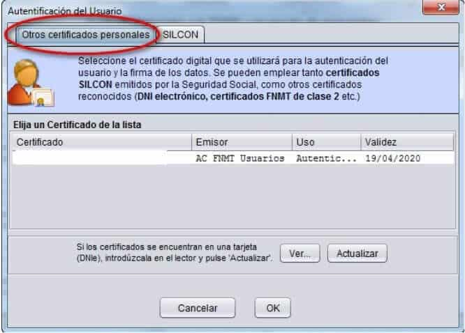 SLD certificado digital