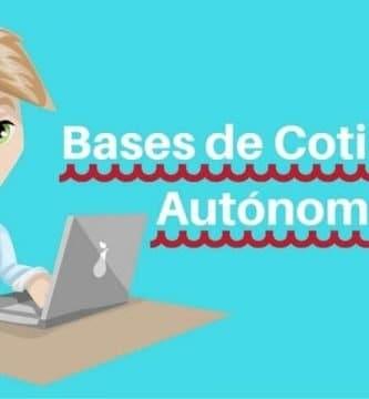 bases de cotizacion autonomos