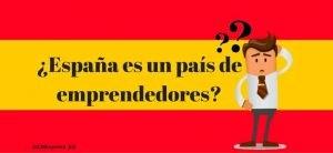 ¿España es un país de emprendedores?