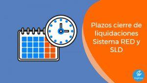 Plazos cierres de oficio y de pagos en SLD, RED Directo y RED Internet 301