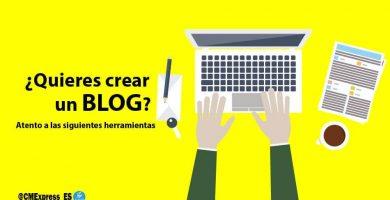 quieres crear un blog