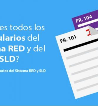 Formularios Sistema RED y SLD