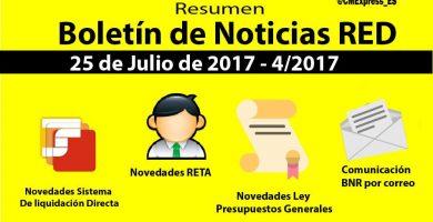 Boletín de Noticias RED julio de 2017
