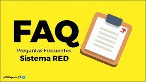 Preguntas Frecuentes Sistema RED 301