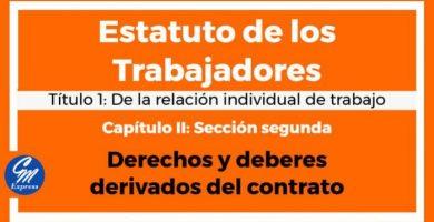 Derechos y deberes derivados del contrato