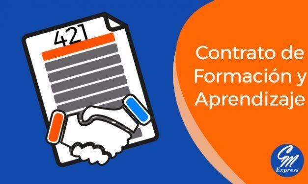 Contrato 421 – Contrato Formación y Aprendizaje 301