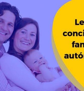 Ley de conciliación familiar autónomos