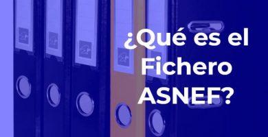 ¿Qué es el Fichero ASNEF?