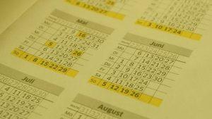 Resumen calendario fiscal Asesorías enero