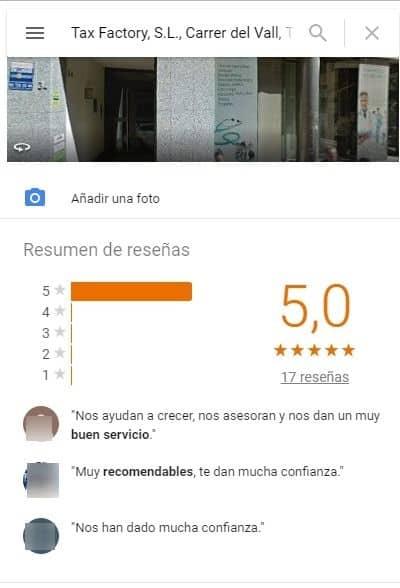 Tax factory barcelona asesoria laboral