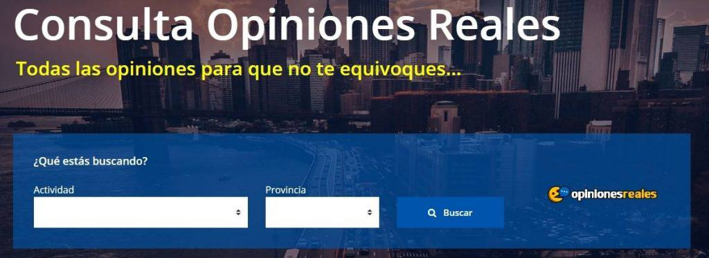 opiniones reales