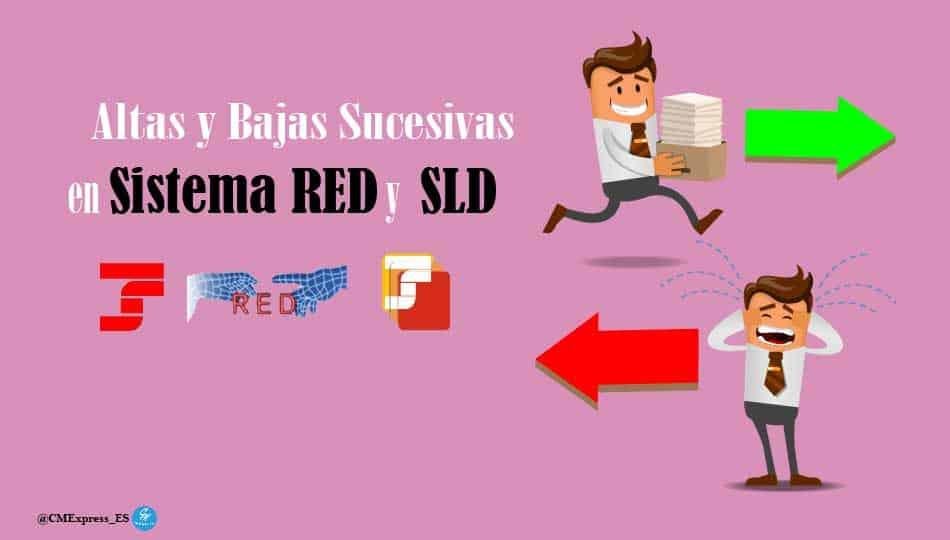 Altas y Bajas Sucesivas – Sistema RED