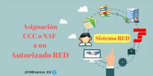 ¿Cómo asignar un CCC o NAF a un autorizado? 301