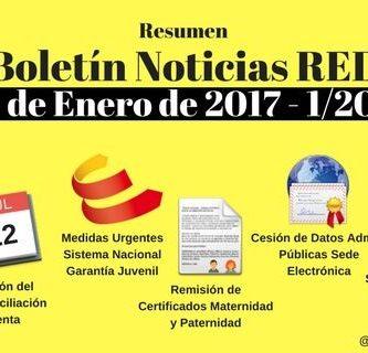 Boletín Noticias RED 1 / 2017