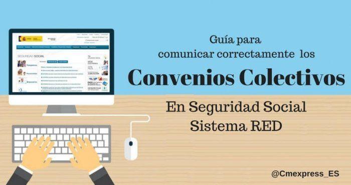 Convenios colectivos laborales Sistema red